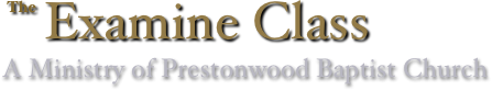 Prestonwood Examine